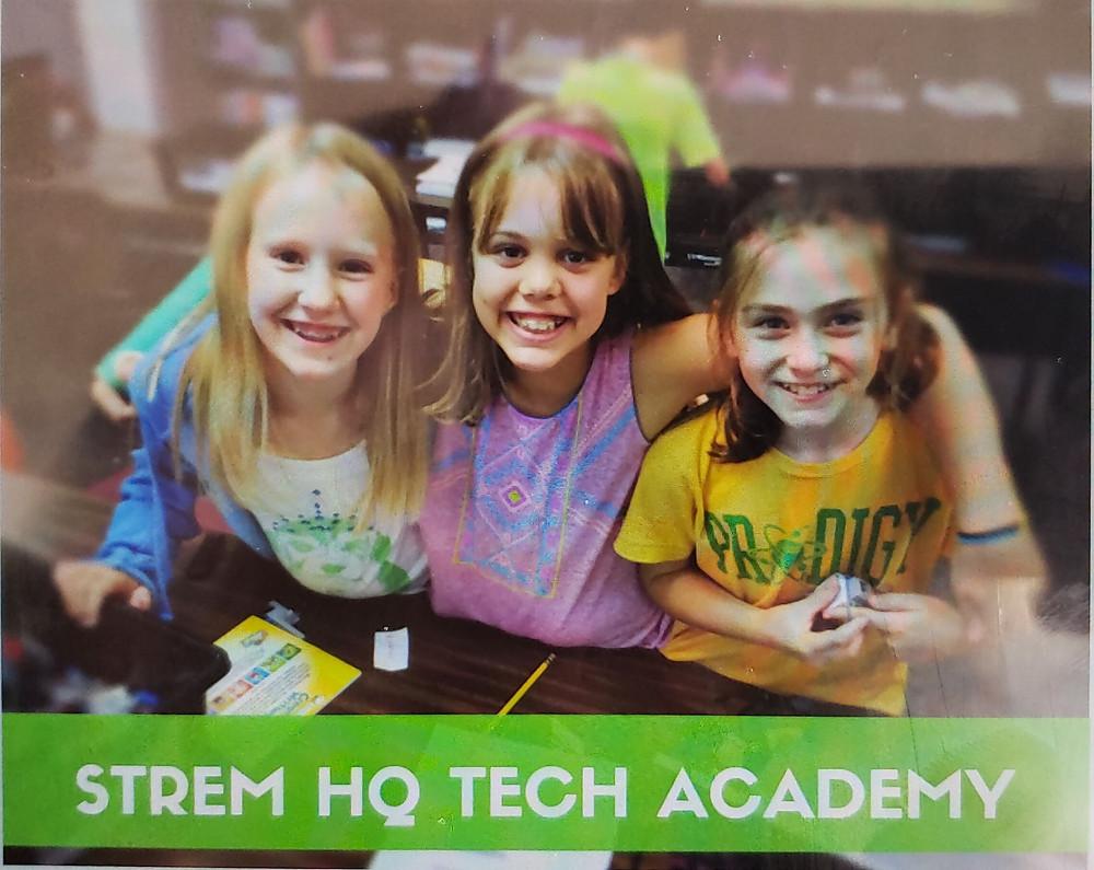 Strem HQ students enjoying learning robotics