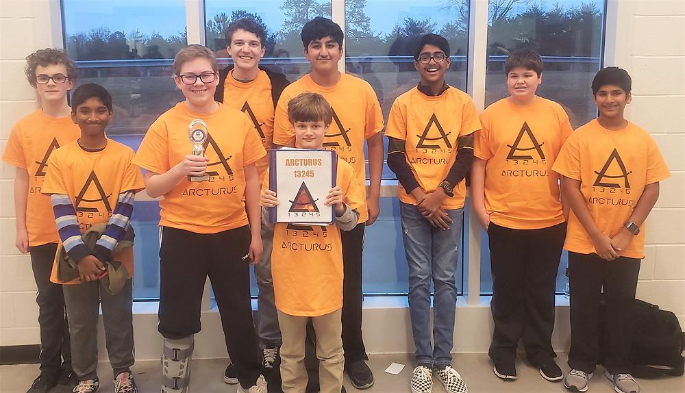 Strem HQ FTC team Arcturus Wins Motivate award