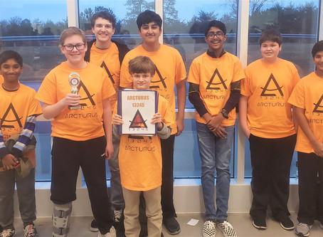 Strem HQ FTC team Arcturus wins !