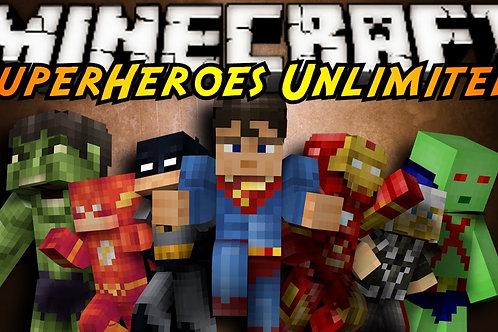 MINECRAFT SUPER-HEROES