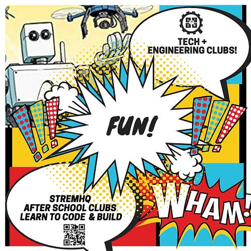 After School Coding, Robotics & Engineering Club