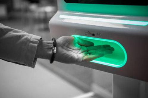 Automatischer Desinfektionsmittel-Dispenser mit Bewegungssensor