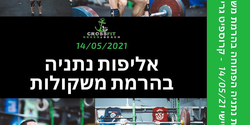 אליפות נתניה בהרמת משקולות 2021