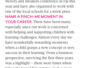 Director feature in Business Chicks Magazine