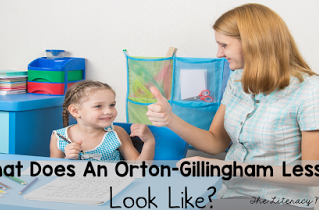 What Does an Orton-Gillingham Lesson Look Like?