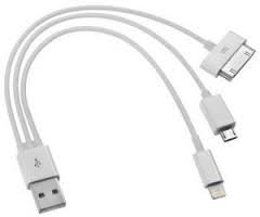 Universal USB charge cable Lightning, 30pins