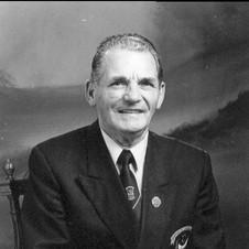 60 Year Medal Teddy Brett