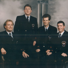 25 Years Medal, George Brett, Tom Keane, Brian Tyrell, William Chester