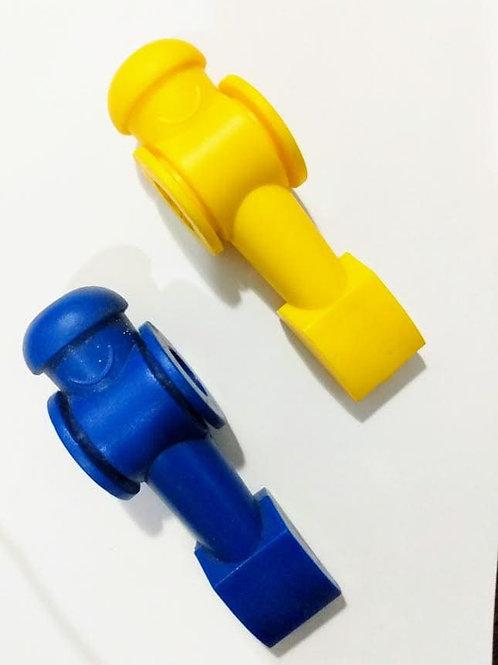 Boneco Reposição Pebolim Totó em PVC (Unidade)