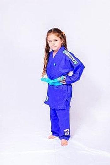 Kimono Infantil Yama Reforçado Azul M1