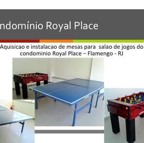 Cond Royal Pace * Flmengo * RJ * Salao de jogos