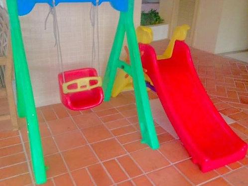 Baby Play Balanço Bebê com escorregador cod 24149a /1720