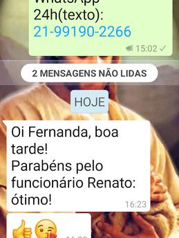 Depoimento cliente Iris Copacabana 13.04