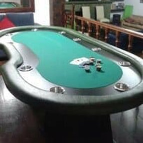 Mesa Poker 10 lugares Com Dealer Cód 1403