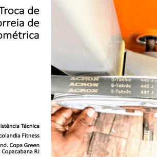 Cond Copa Green Troca correia Ergometrica