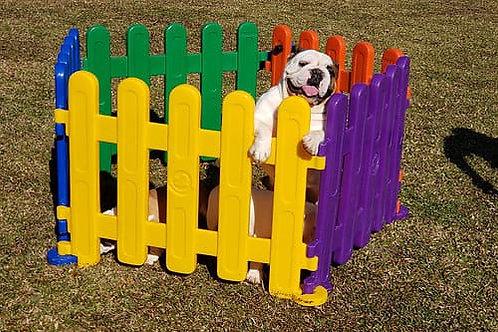 Cercadinho com portão de segurança Pet Cód. 859
