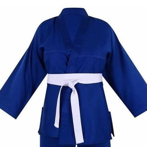 Paletó De Kimono Infantil Azul M2 Reforçado Fancaire