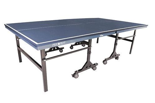 Mesa Ping Pong 18mm Com Rodízios Paredão Cód. P16018-1181