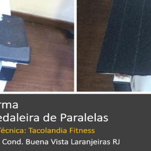 Cond Buena Vista RJ Reforma de Pedaleira de Paralelas