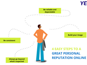 4 Easy Steps to a GREAT Personal Reputation Online
