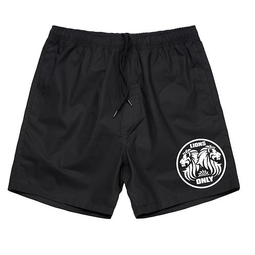 Lions Only Nylon Shorts Black