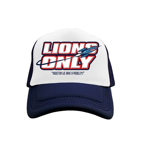 Lions Only Hat Blue