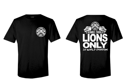 Jermall Charlo LionsOnly Official Team T-shirt