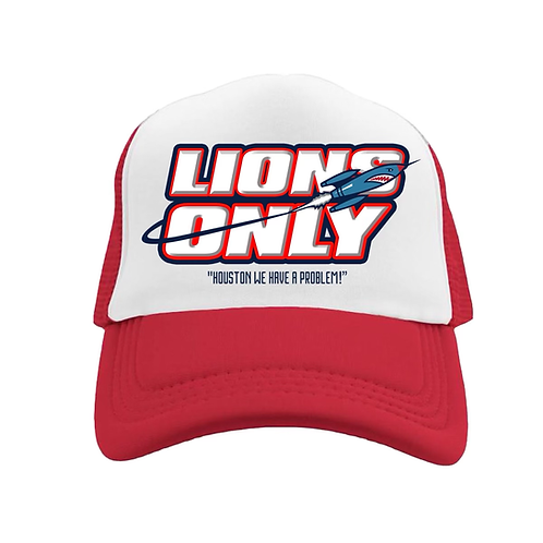 Lions Only Hat Red