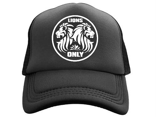 Lions Only Logo Hat Black