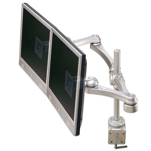 ROLINE Bras multi LCD, support pour 2 LCD, 4 pivots