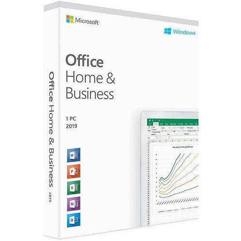 Microsoft Office 2019 Standard 32/64 Bit (Home & Business) - (clé de produit)