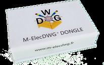 Photo de la boite du dongle M-ElecDWG