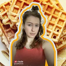 WaffleChick Waffle Chick Rizzle Funny Vi
