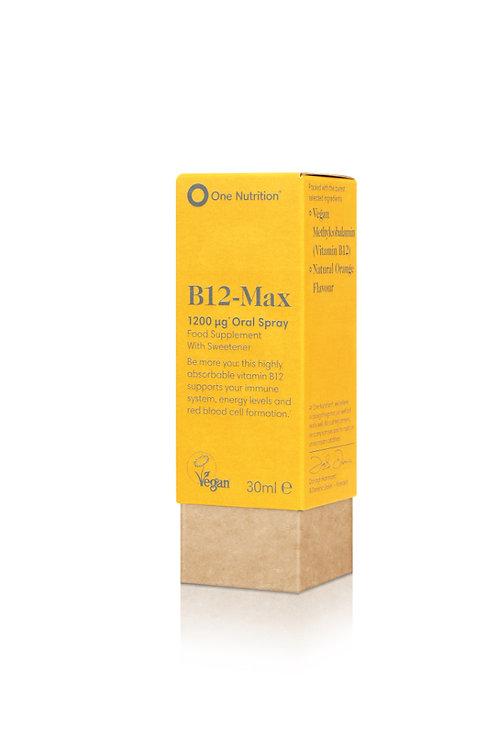 B12-Max 1200 ug Oral Spray - 30ml - VEGAN