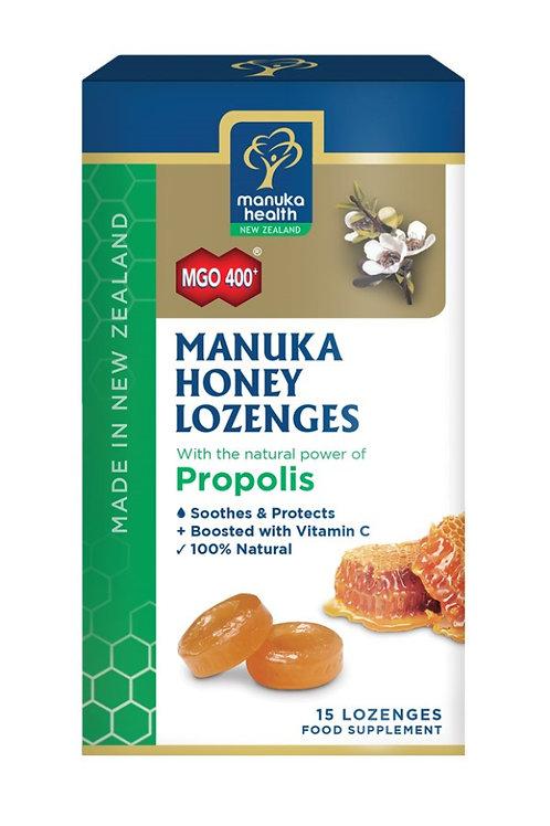 Manuka Honey Lozenges with Propolis 65g