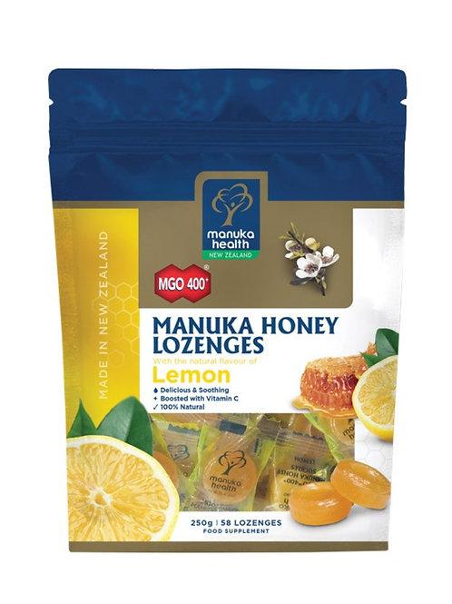 Manuka Honey  Lozenges  with Lemon 250g