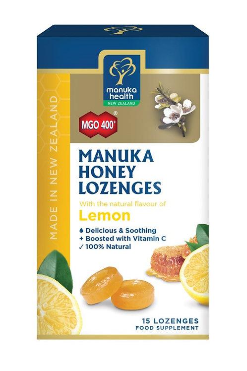 Manuka Honey  Lozenges  with Lemon 65g