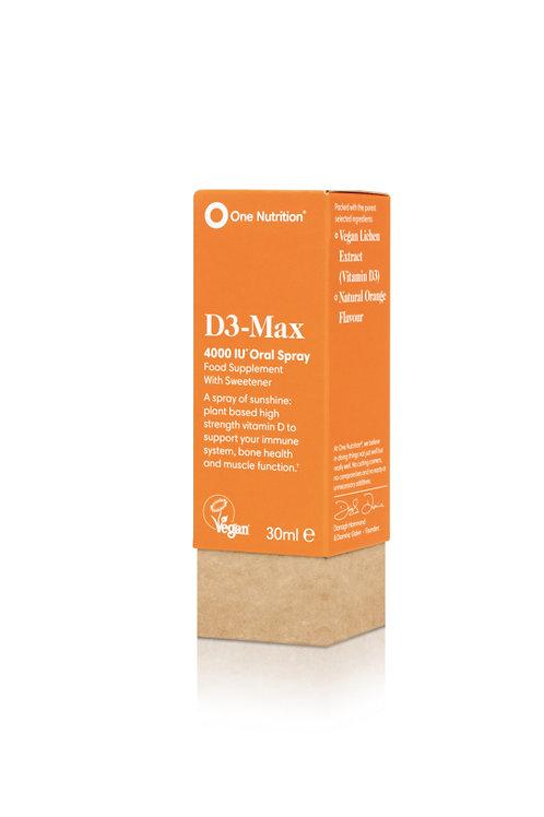 D3 Max 4000IU Oral Spray 30ml - VEGAN