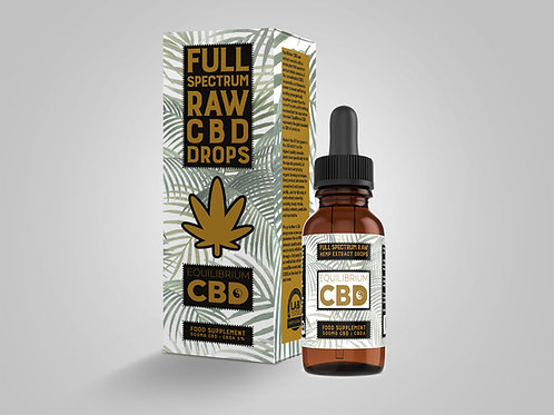 Full Spectrum CBD Oil Tincture 500mg (5%) 10ml