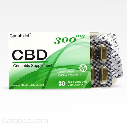 Canabidol CBD Oral Capsules 300mg
