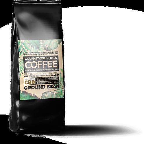 CBD Infused Ground Coffee 100g Bag