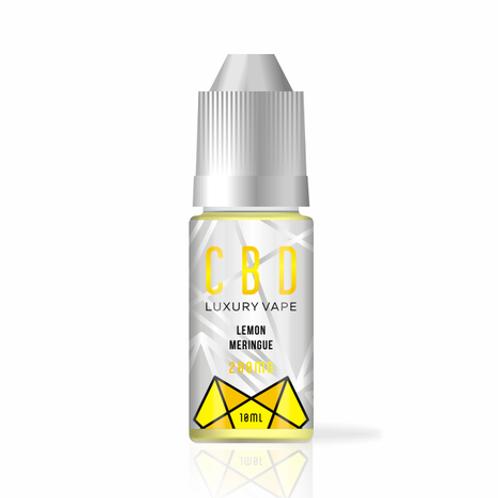 Lemon Meringue 2% CBD E-liquid