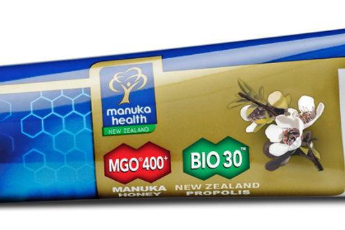 Propolis & MGO™400 Manuka Honey Toothpaste with Tea Tree Oil - 100G