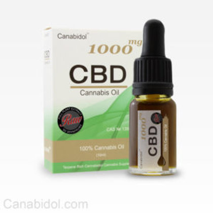 CANABIDOL™ CANNABIS OIL DROPS (RAW) 250mg 500mg 1000mg
