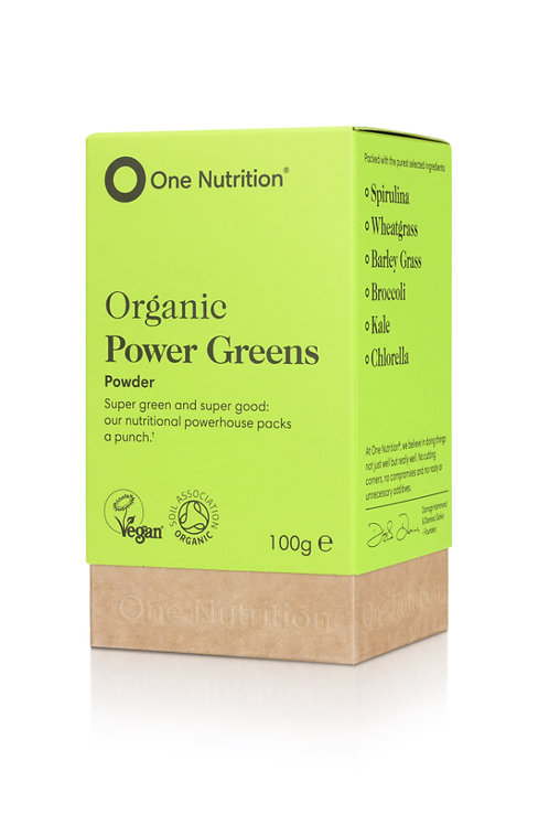 Organic Power Greens - 100g Powder -VEGAN