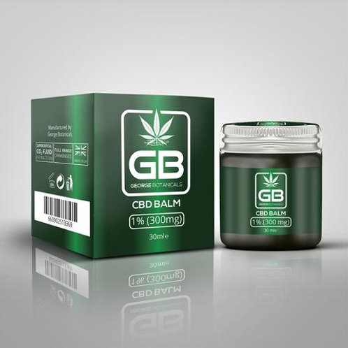 CBD Balm UK with 1% CBD Extract (30ml)