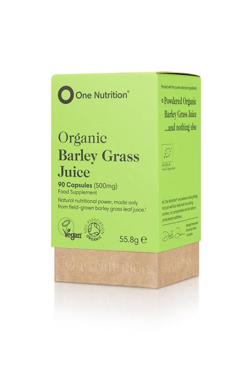 Organic Barley Grass Juice - 90 Capsules - VEGAN