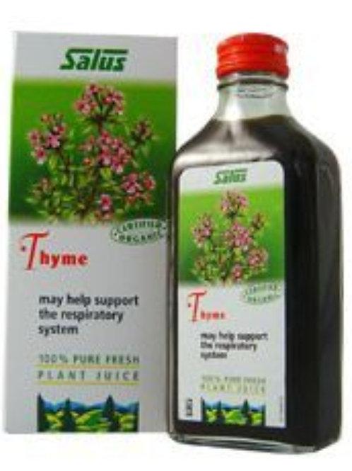 Salus Thyme Fresh Plant Juice - 200ml