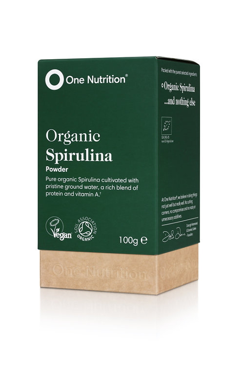 Organic Spirulina - 100g powder - VEGAN