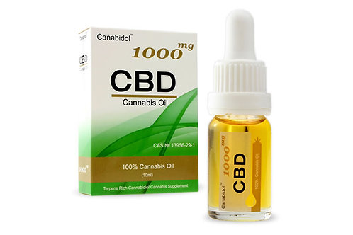 CBD Cannabis Oil from Canabidol™  250mg 500mg 1000mg